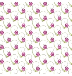 Abstract floral nature seamless pattern design vector