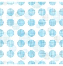 Abstract textile blue polka dots stripes seamless vector