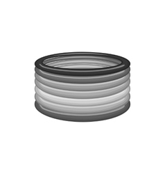 Bracelet icon black monochrome style vector image