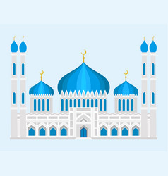 cathedral mosque church temple traditional vector image vector image
