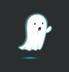 Cute Ghost Single 5 vector image