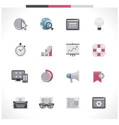 SEO icon set Part 2 vector image