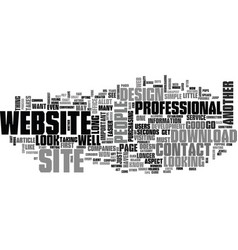 Why a website design speaks volumes about your vector