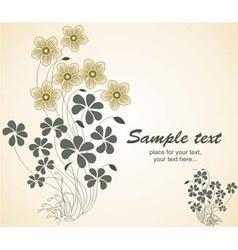 etro floral vintage vector image