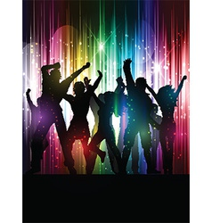 Party people background vector