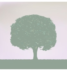 Vintage tree design eps 8 vector