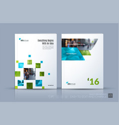 business template brochure layout cover vector image vector image