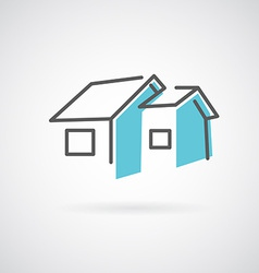House design logo vector