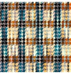 Hound-tooths plaid background vector