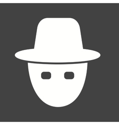Hacker mask vector