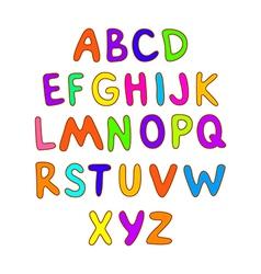 Abc for kids alphabet kids children fun vector