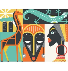 Africa vector image vector image