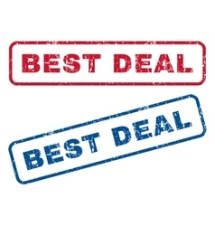 Best Deal Rubber Stamps vector image