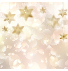 Elegant Christmas snowflakes and copyspace vector image vector image