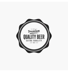Sweet Beer Label vector image