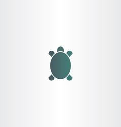 Turtle logo sign element symbol vector