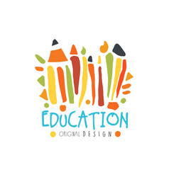 Education label original design back to school vector