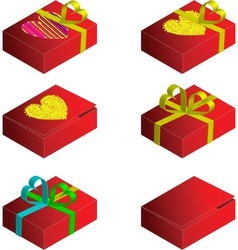 gift case vector image