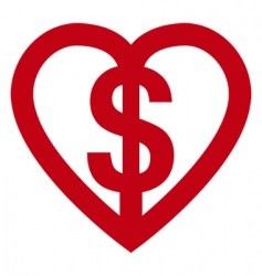 love money vector image vector image