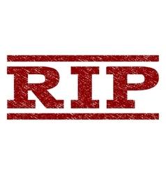 Rip watermark stamp vector