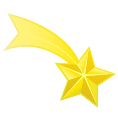 Shooting star vector image vector image