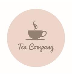 Teacup company logo vector