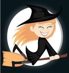 Witches all around vector image