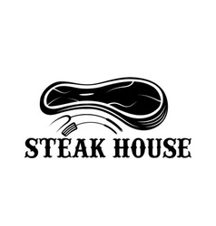 Steak house design template vector