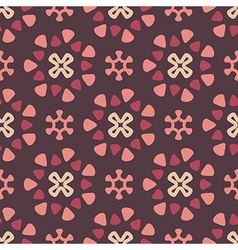 Dark retro pattern vector
