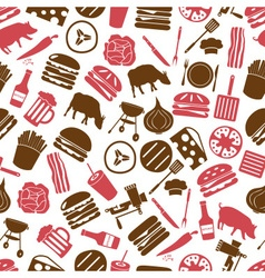 Hamburger theme modern simple icons seamless color vector