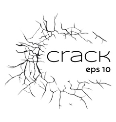 Cracks vector