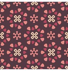 Dark retro pattern vector image vector image