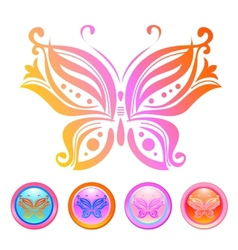 Design of butterfly vector