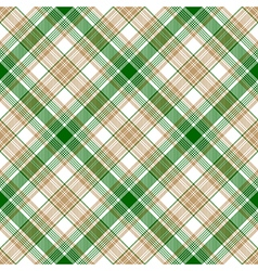 Green white beige fabric texture seamless pattern vector