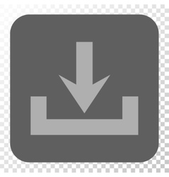 Downloads rounded square button vector