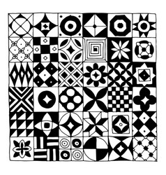 Abstract geometric pattern for your design vector