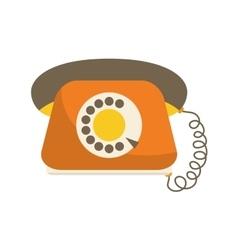 Phone icon Retro design graphic vector image
