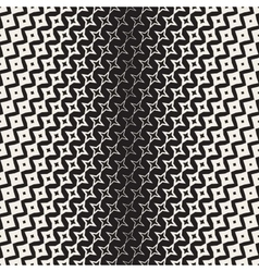 Star Line Shape Halftone Transition vector image vector image
