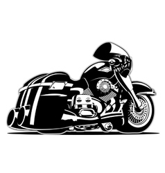 Cartoon motorbike vector