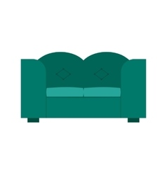 Double sofa vector