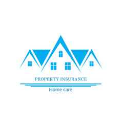 house insurance colourful flat vector image