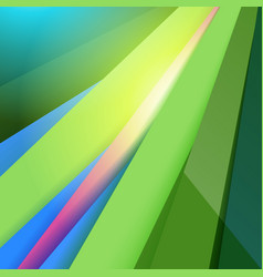 Modern material design abstract green background vector