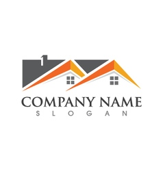 Home and building business property logo template vector