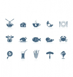 Food icons 2  piccolo series vector