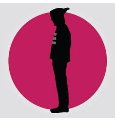 man in hoodie vector image