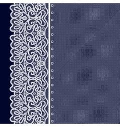 Lace Decorative Background vector image