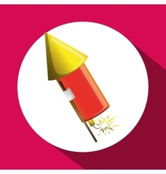 Firework icon design vector