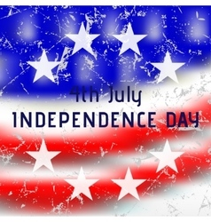 Greeting card - usa independence day vector