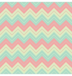 Horizontal geometric soft pastel colors broken vector image vector image