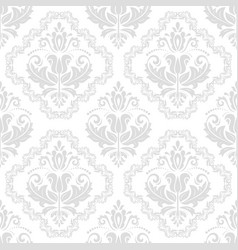 Damask seamless background vector